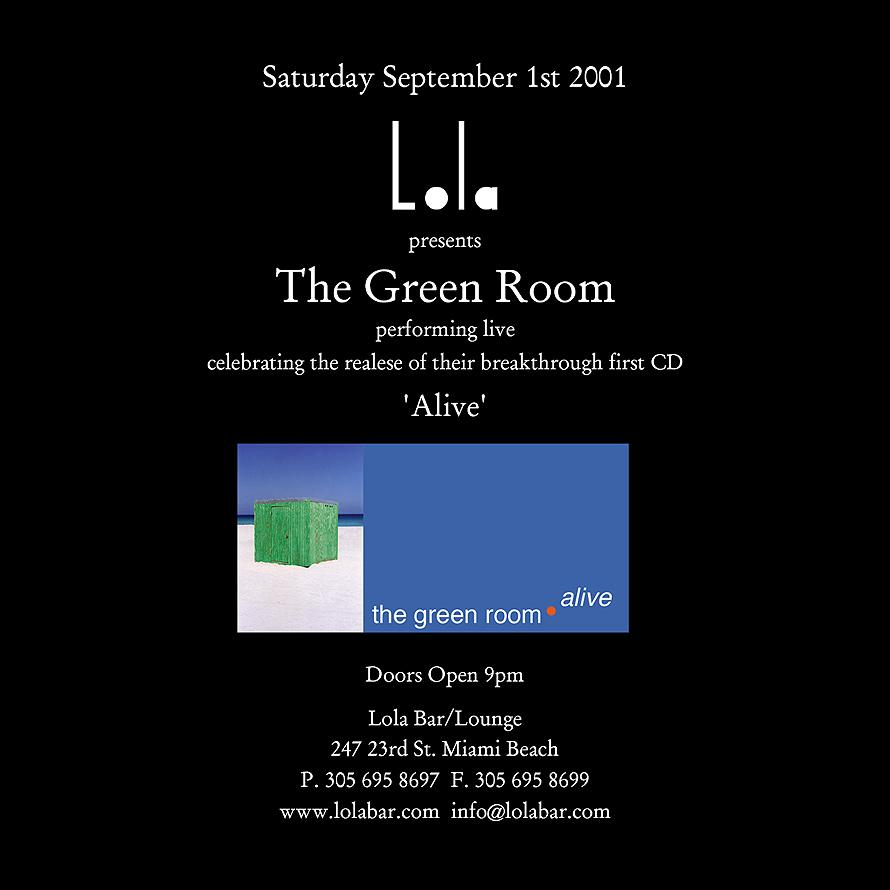 Lola Presents The Green Room