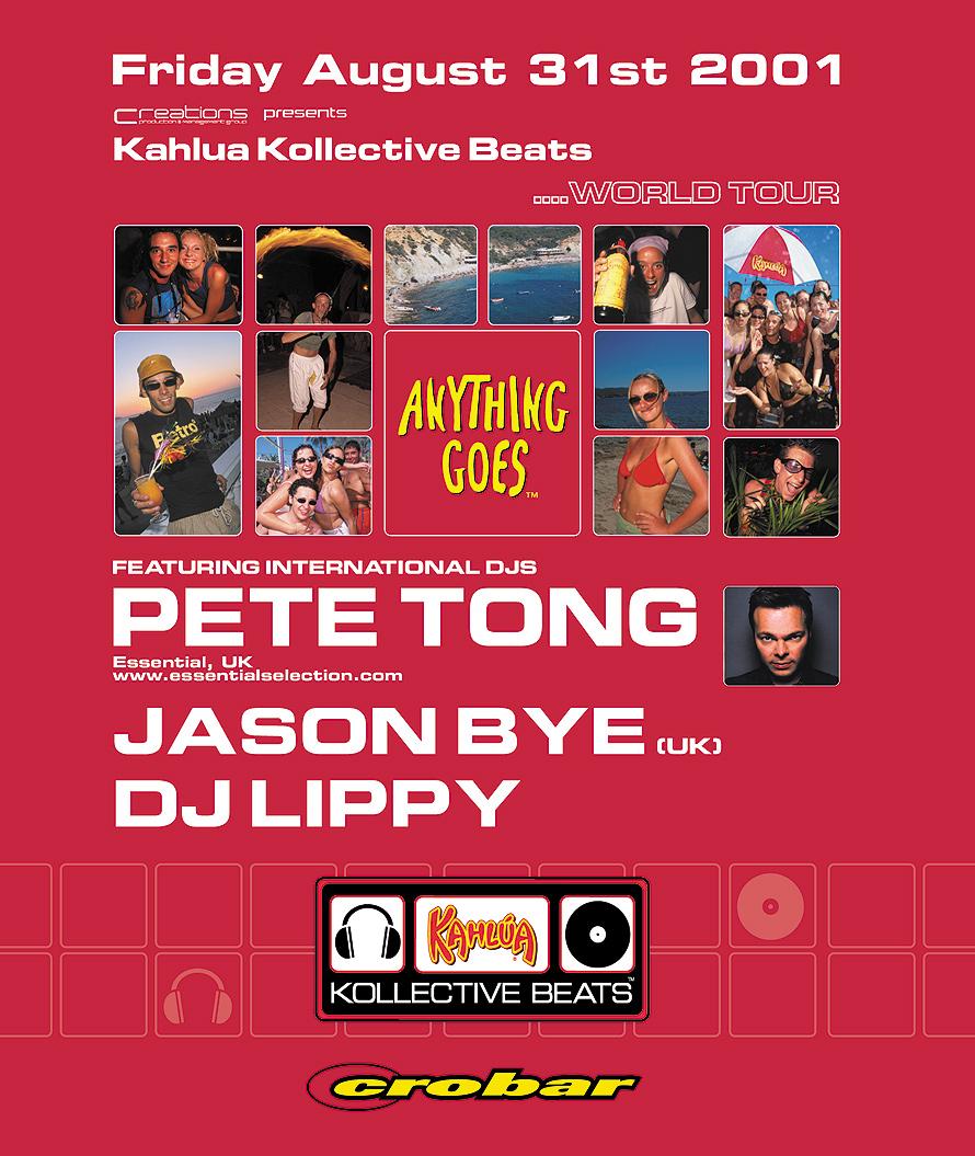 Kahlua Kollective Beats Presents Pete Tong