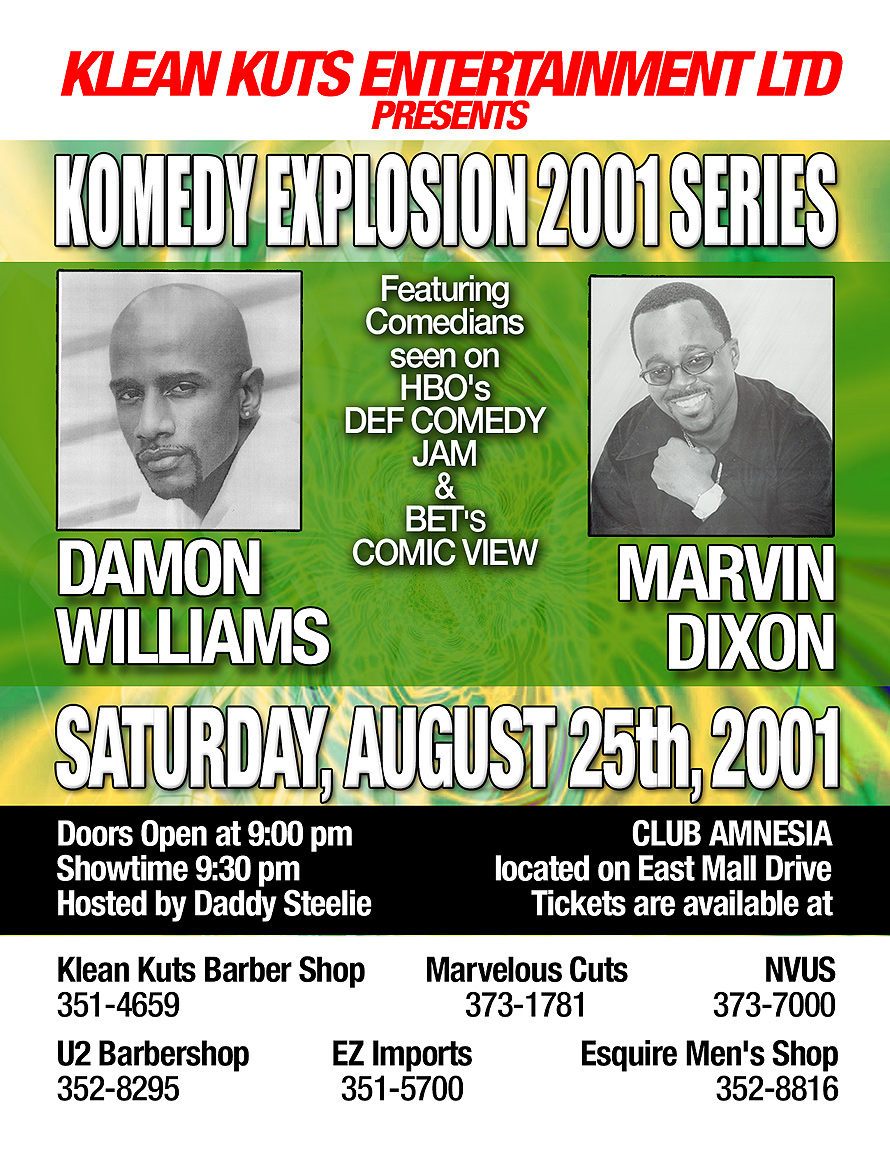 Comedy Explosion at Club Amnesia