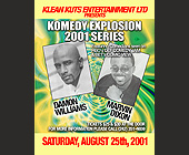 Comedy Explosion at Club Amnesia - Club Amnesia Graphic Designs