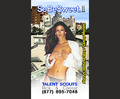 SoBe Sweet Talent Scouts in Miami Beach - tagged with bikini model