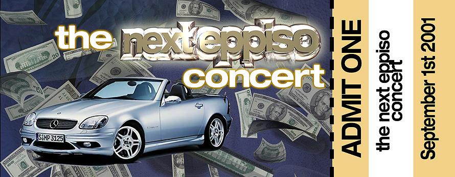 The Next Eppiso Concert Admit One