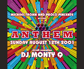 Anthem August at Crobar - tagged with michael tronn and paolo pincente
