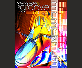 Saturday Nights Momentum at Groove - tagged with 2001 universal