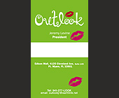 Outlook Business Card - tagged with lips