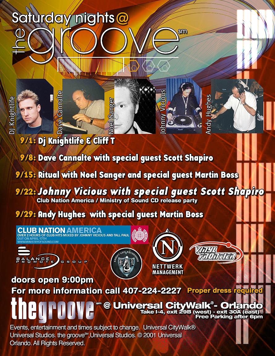 Saturday Nights Momentum at Groove