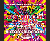 Anthem Labor Day at Crobar - Gay and Lesbian Graphic Designs