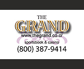 The Grand Sportsbook and Casino - Casino Graphic Designs