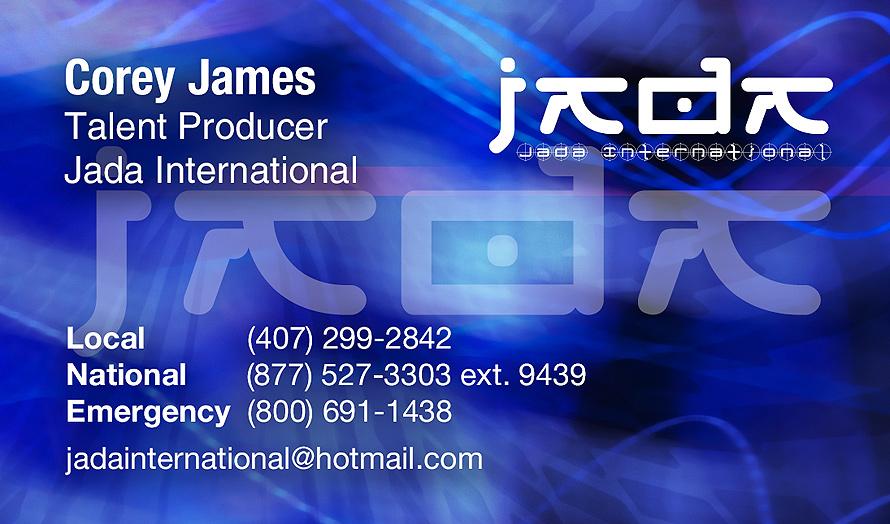 Jada International Models Actors and Musicians