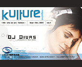 Kulture Magazine at Club Space - created August 30, 2001