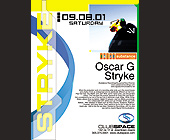 Stryke at Club Space with Oscar G - created August 30, 2001