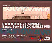 Soundwave Sundays at Gables Pub - tagged with school