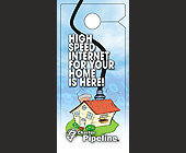 High Speed Internet for Your Home is Here! - Door Hangers Graphic Designs