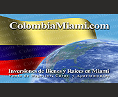 Colombia Miami Inversiones de Bienes y Raices en Miami - created September 10, 2001