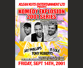 Klean Kuts Present Komedy Explosion - tagged with jam