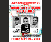 Klean Kuts Present Komedy Explosion - tagged with tickets