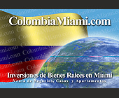 Colombia Miami Real Estate Service - created September 2001