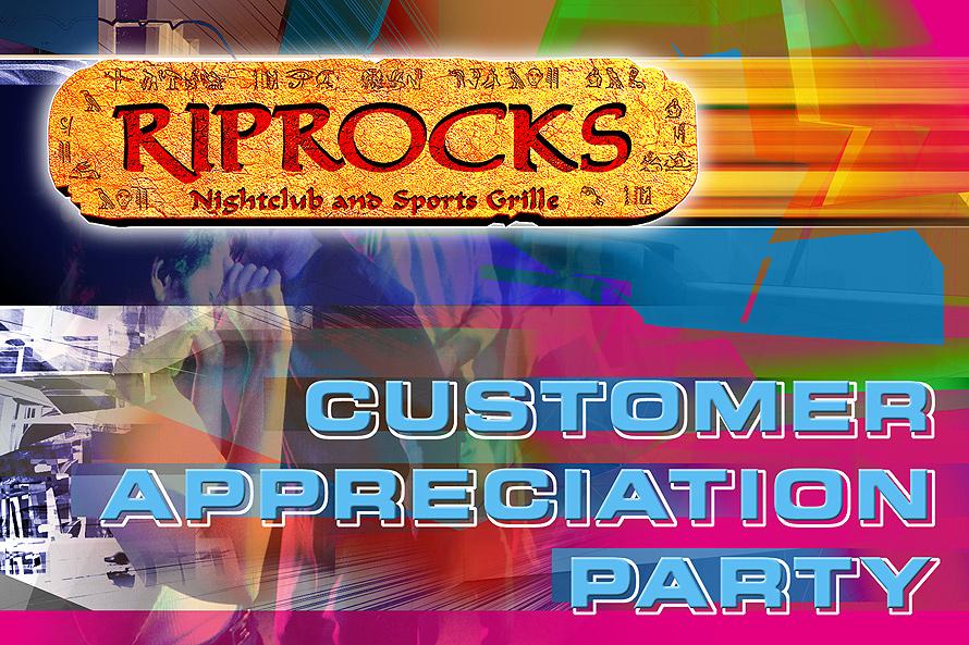 Riprocks Nightclub and Sports Grill Customer Appreciation Party