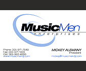 Music Men Enterprises DJs and Sound Reinforcement - tagged with circle design