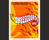 Cheeseburger Baby Menu - 2550x3300 graphic design