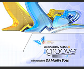 Wednesday Nights at The Groove - Orlando Graphic Designs