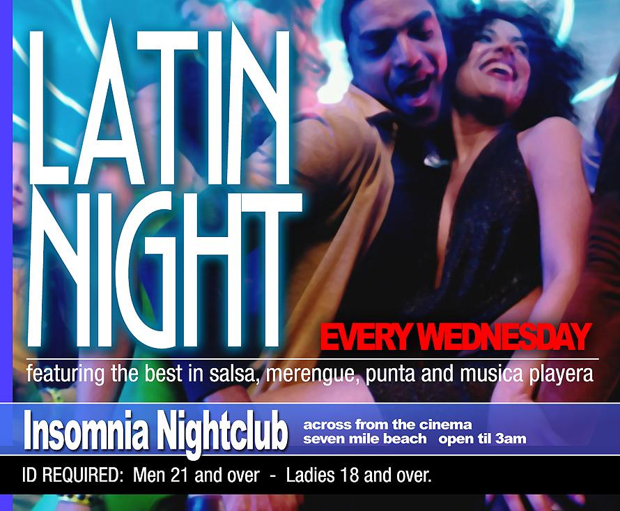 Latin Night at Insomnia Nightclub