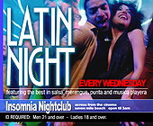 Latin Night at Insomnia Nightclub - tagged with 4.25 x 3.5