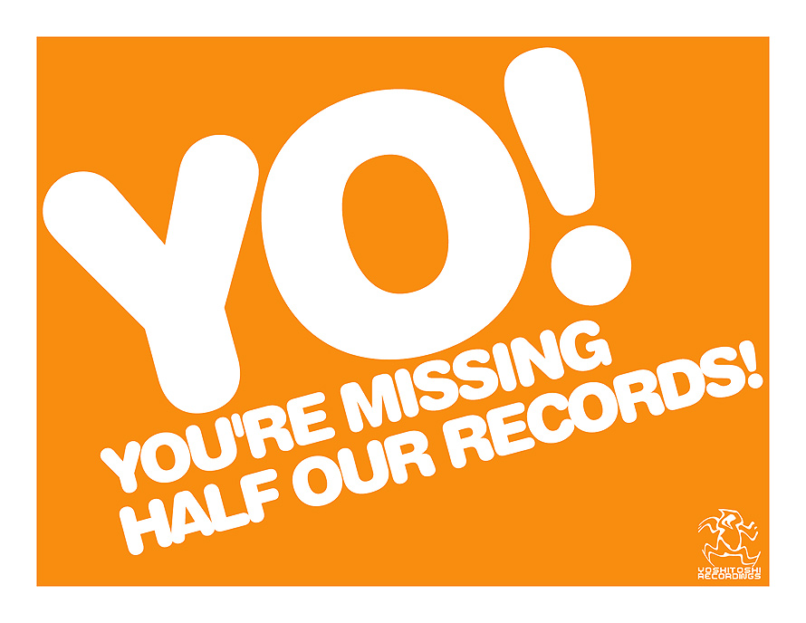 Yo! You're Missing Half Our Records!