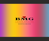 BMG Latin Region at Prive - Latin Graphic Designs