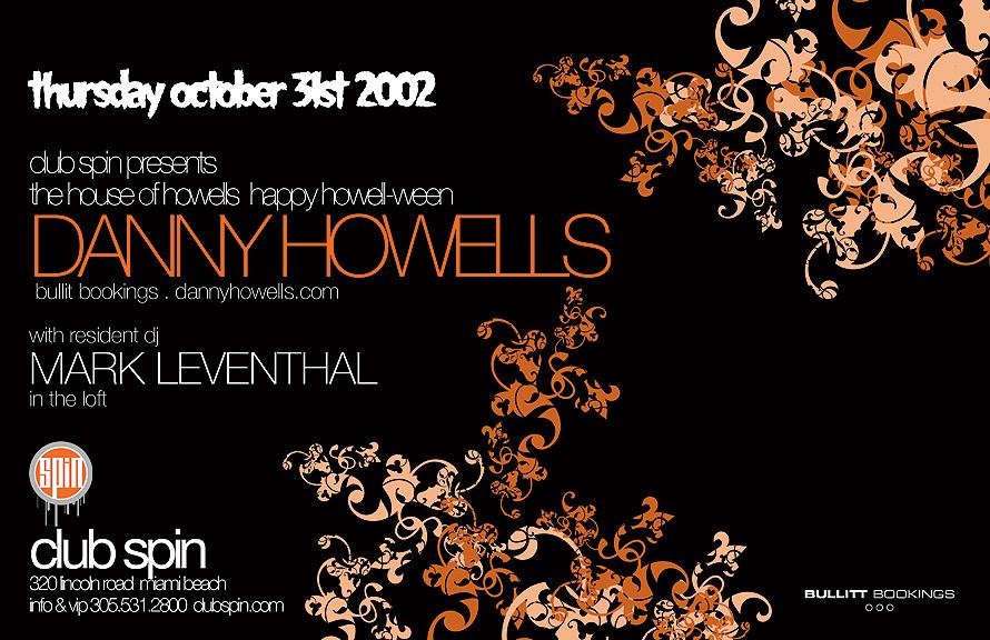 Danny Howells at Club Spin