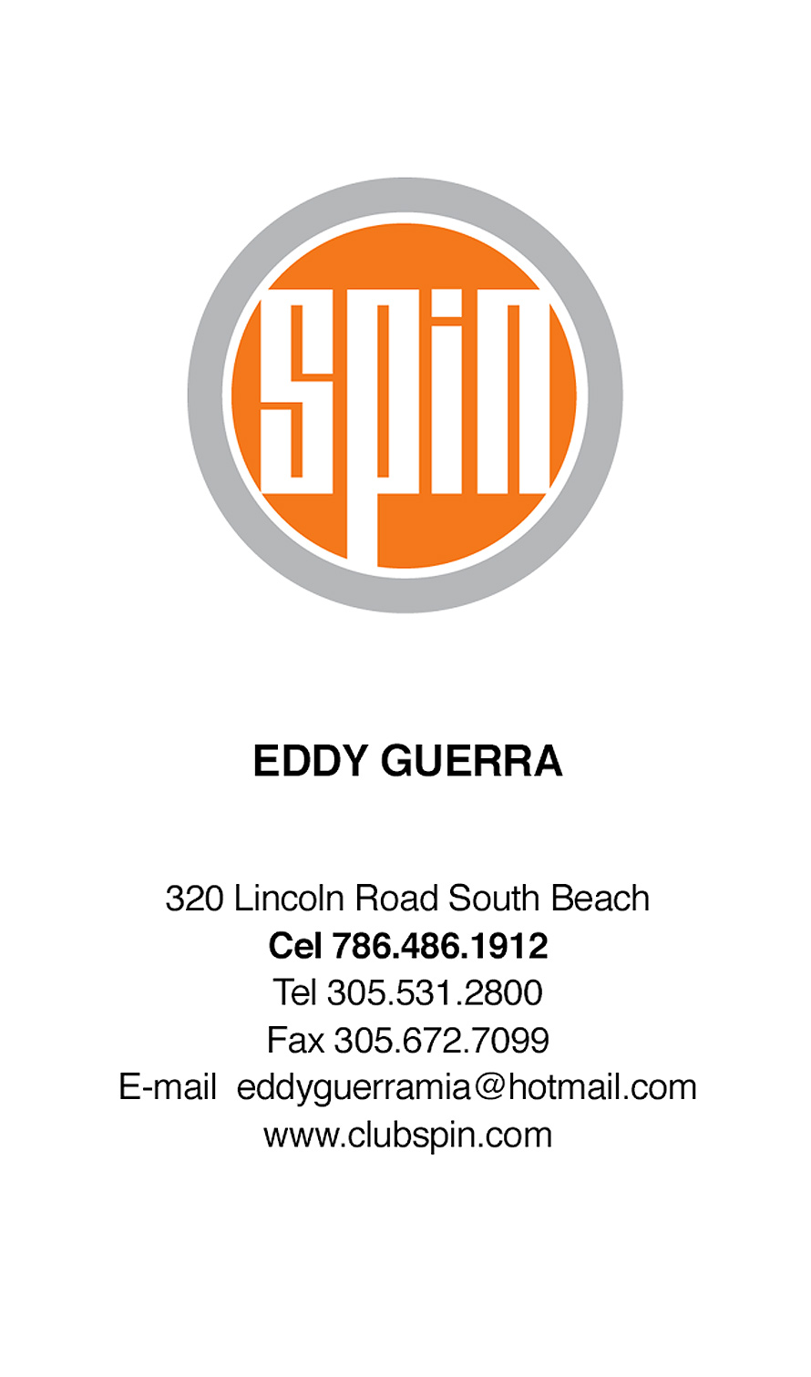 Eddy Guerra of Spin Nightclub
