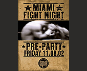 Miami Fight Night - tagged with florida