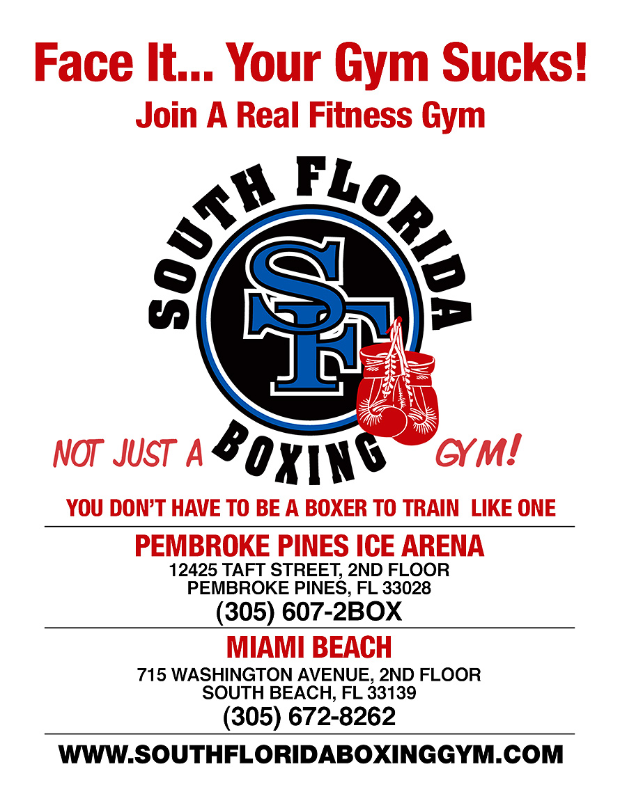 South Florida Boxing Face It Your Gym Sucks
