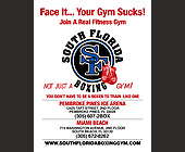 South Florida Boxing Face It Your Gym Sucks - tagged with 2box