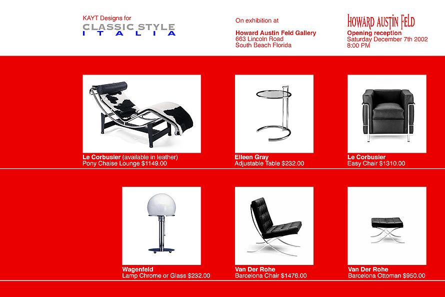 KAYT Designs Classic Style Italia