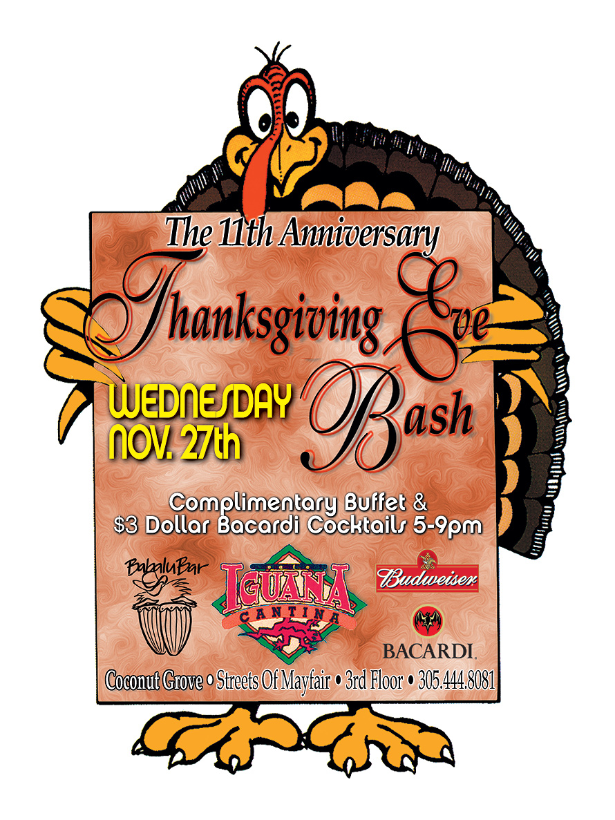 The 11th Anniversary Thanksgiving Eve Bash