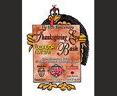 The 11th Anniversary Thanksgiving Eve Bash - 1050x1400 graphic design