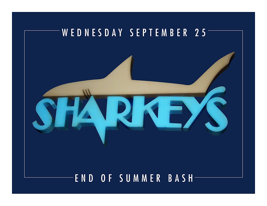 Sharkey's End of Summer Bash