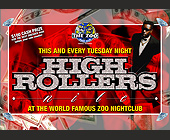 High Rollers at Zoo Nightclub - Reggae Graphic Designs