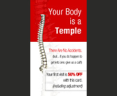 Your Body is a Temple  - created January 17, 2003