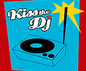 Kiss the DJ - 1425x1424 graphic design