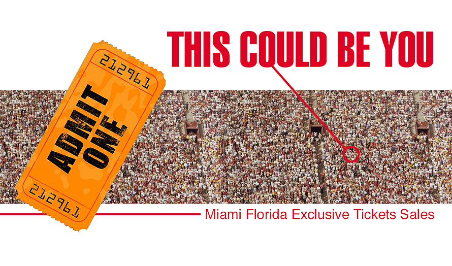 Miami Florida Exclusive Tickets Sales