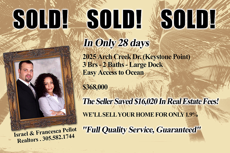 Sold in Only 28 Days!