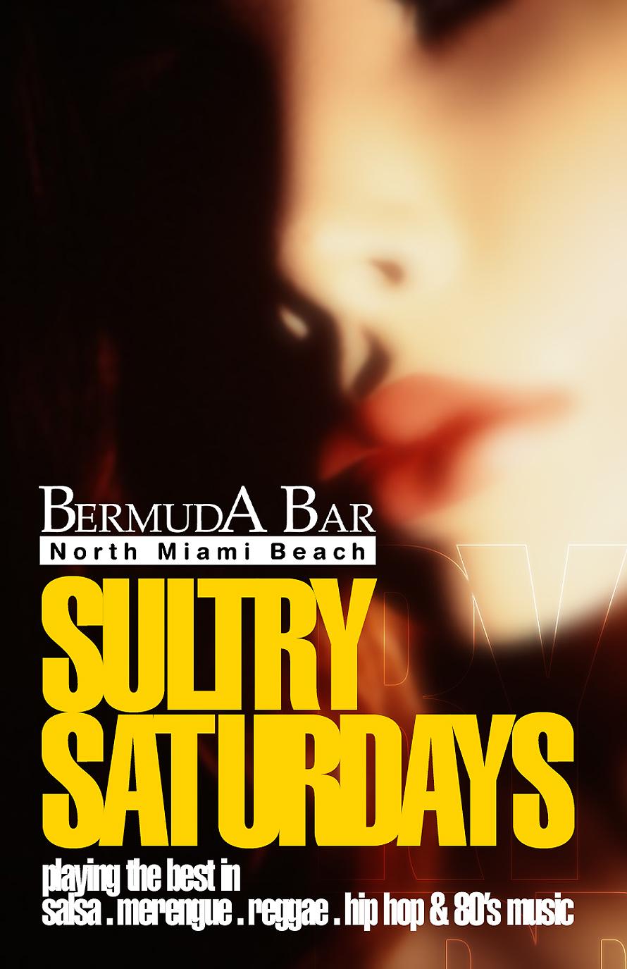 Bermuda Bar Sultry Saturdays