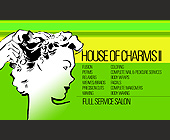 House of Charms Full Service Salon - created October 2003