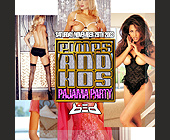Pimps and Hos Pajama Party - Party Graphic Designs