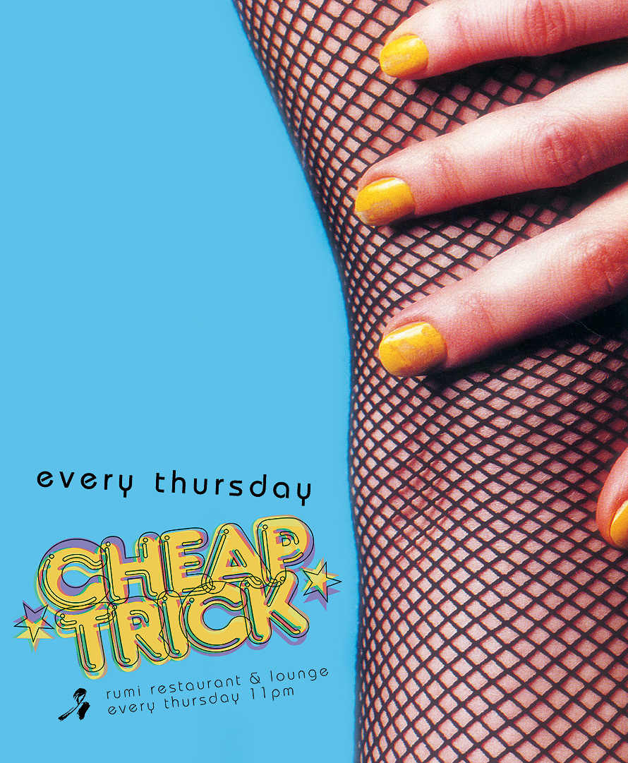 Every Thursday Cheap Trick at Rumi