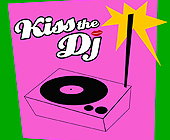 Kiss the DJ at Pure Lounge - tagged with lips