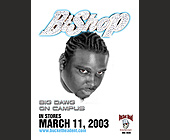 Bishop Big Dawg on Campus - Music Industry