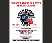 South Florida Boxing Gym - tagged with professional boxing instruction